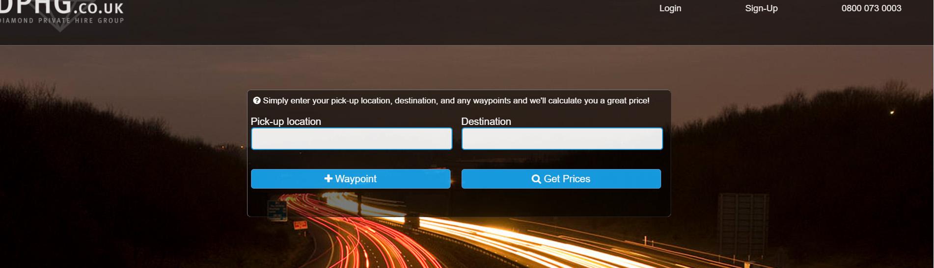 Website for dphg.co.uk